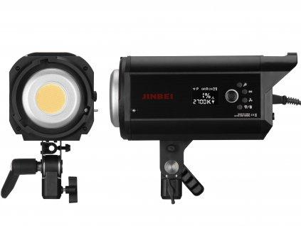 Hybridní Bi-color LED trvalé světlo Jinbei EF 200 II Sun Light, 2700 - 6500K + reflektor