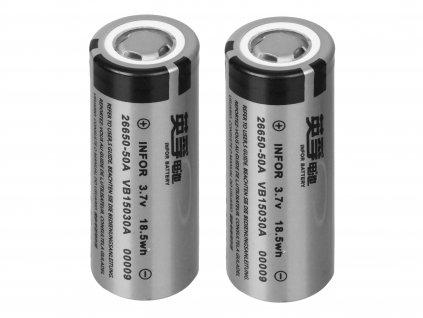 Sada 2 baterií EFT pro světlo EFT 360