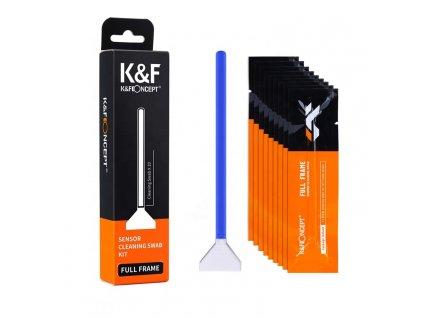 24mm tyčinky na čištění FULL FRAME senzoru K&F (10 ks)