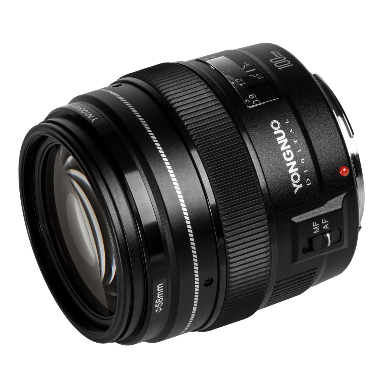 Objektiv Yongnuo 100mm f/2 Canon EF