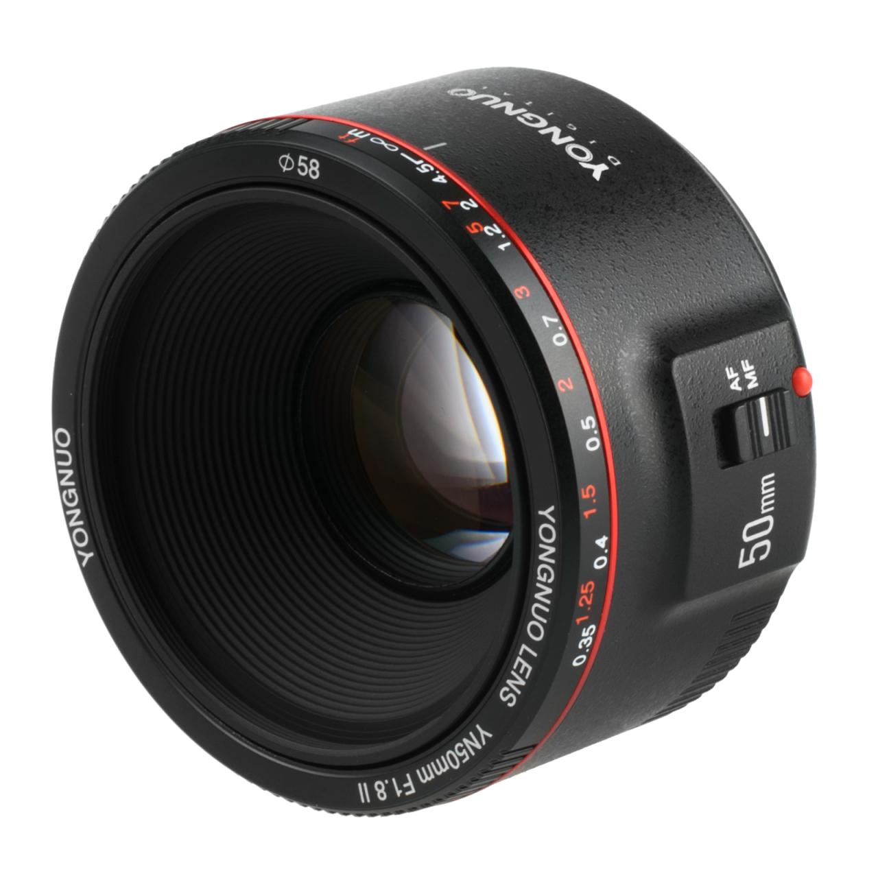 Objektiv Yongnuo 50mm f/1.8 II Canon EF