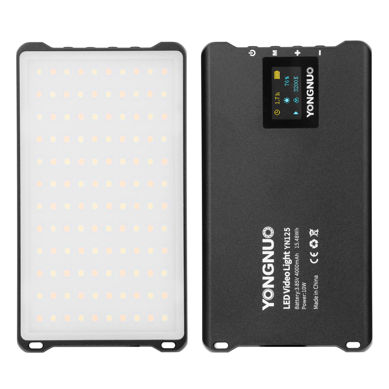 Kapesní trvalé LED mini světlo Yongnuo YN125, 3200-5600K