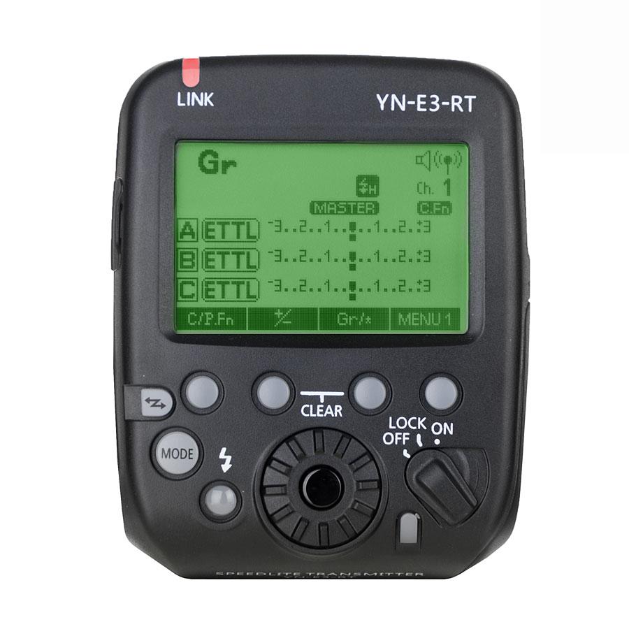 YONGNUO Bezdrátová řídící jednotka YN-E3-RT pro blesky YN600EX-RT(II)