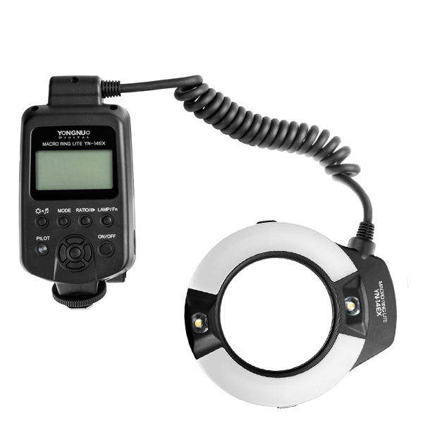 Macro blesk YONGNUO Ring flash YN-14EX GN14, TTL Canon