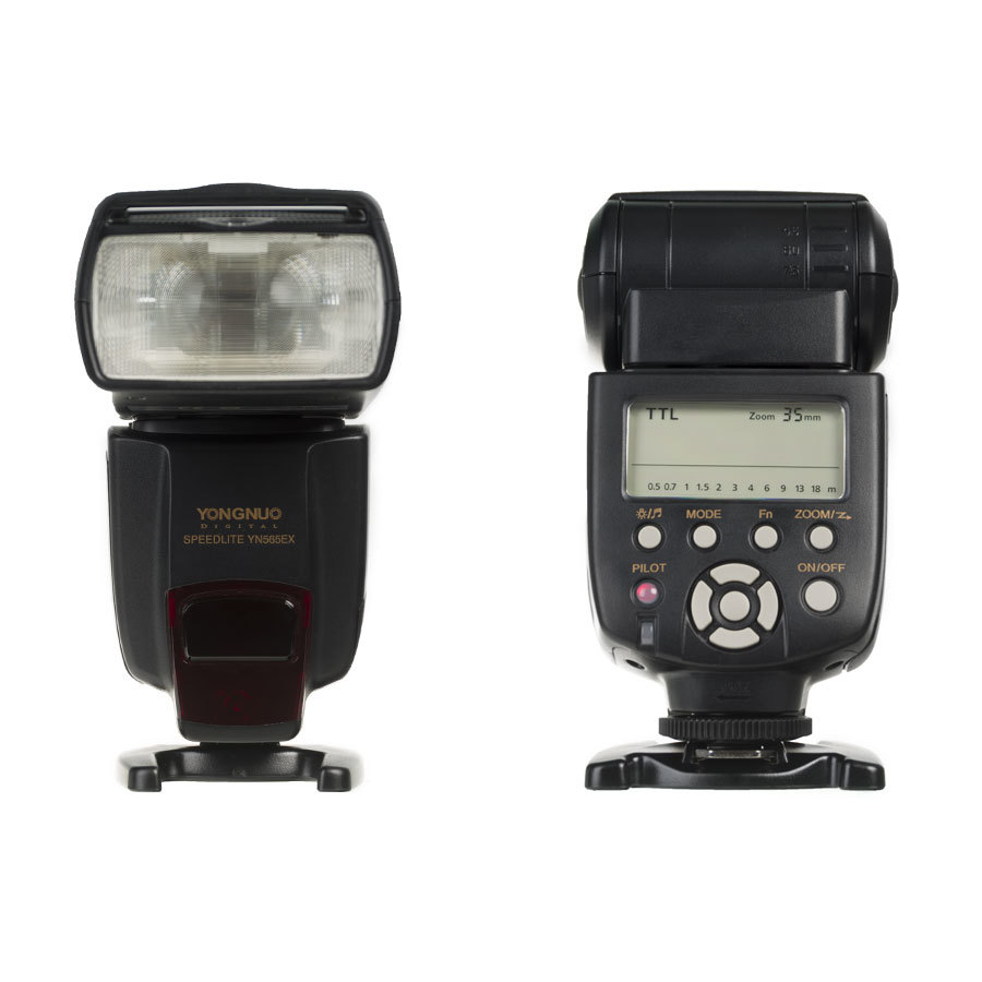 Externí blesk YONGNUO YN565EX Speedlite, GN58, TTL Nikon