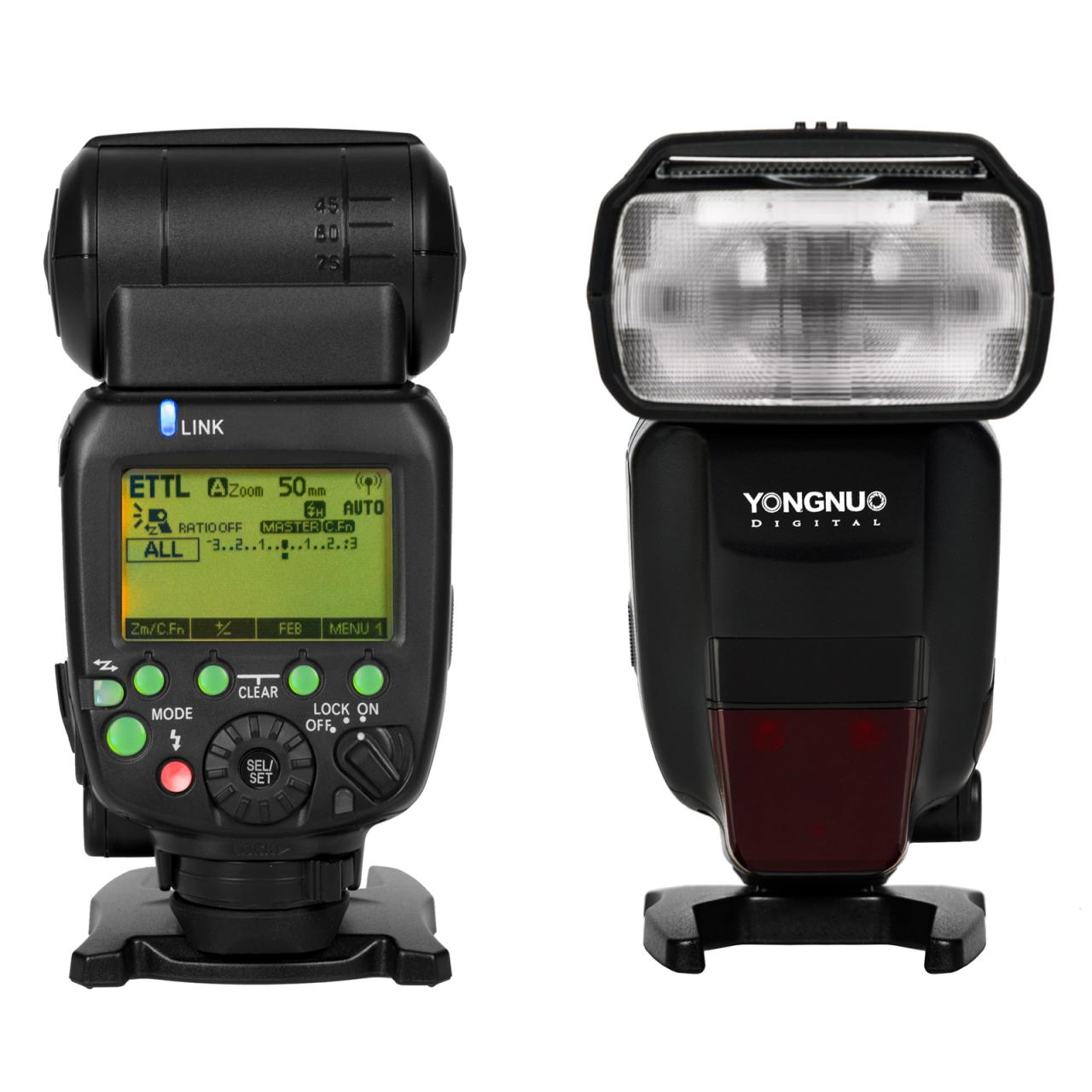 Externí systémový blesk YONGNUO YN600EX-RT II Canon, GN60