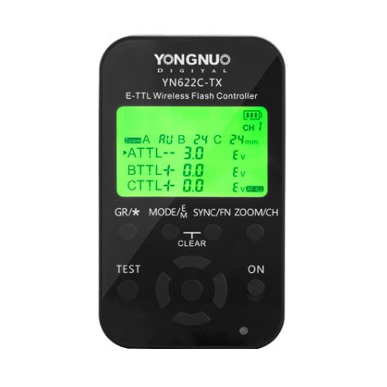 YONGNUO Bezdrátová řídící jednotka pro odpalovače YN622-C-TX
