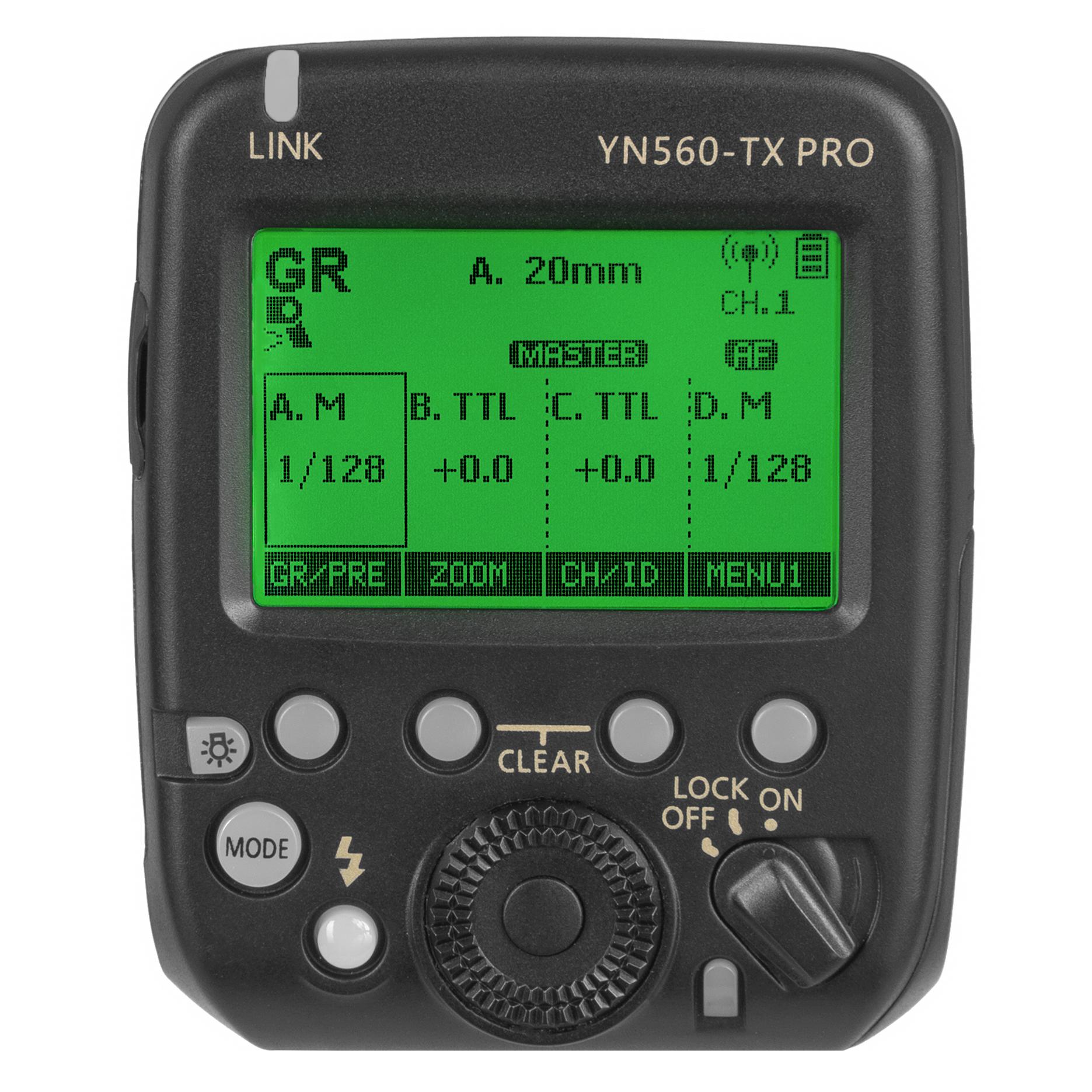 Bezdrátová řídící jednotka pro blesky YONGNUO YN560-TX PRO pro Nikon