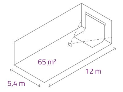 rozměry atelieru