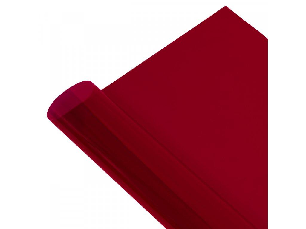 Gélový filter -  červený, 1x1 m
