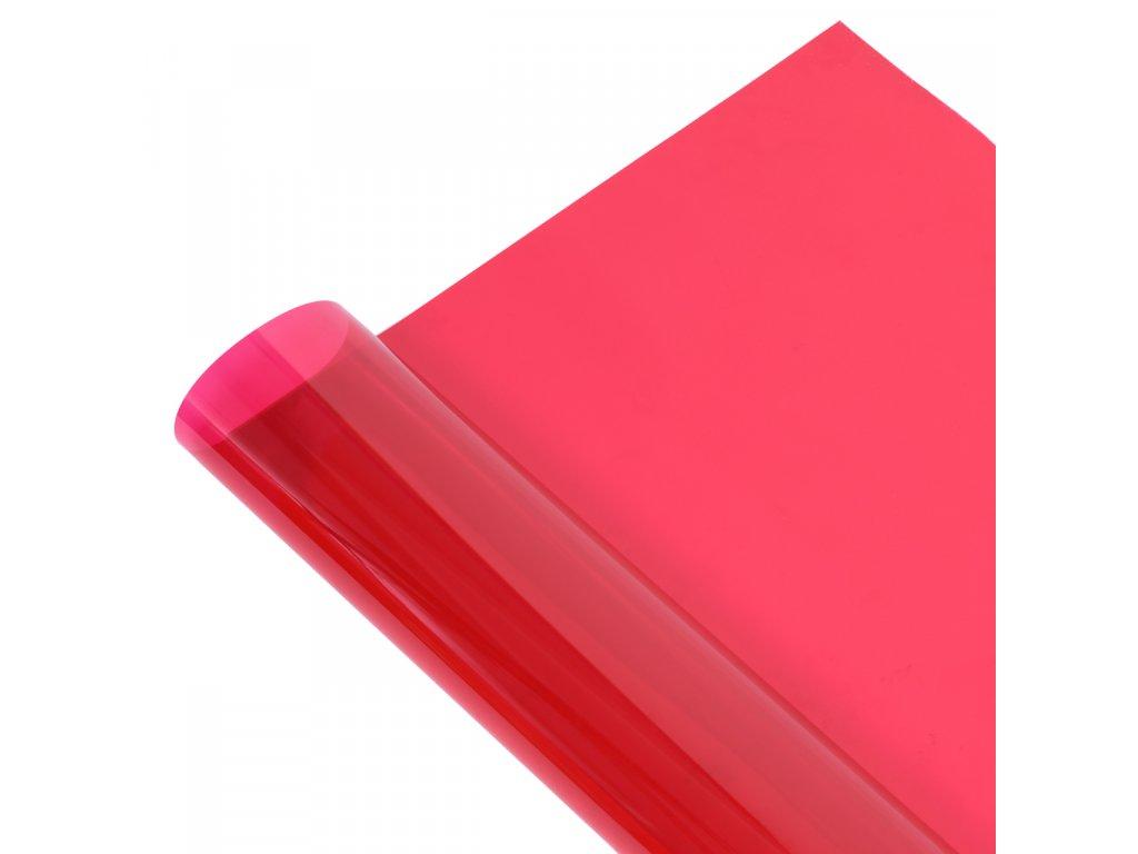 Gelový filter -  svetlo červený, 1x1 m