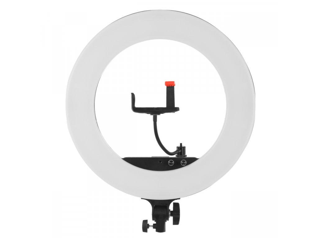 Kruhové LED trvalé svetlo 3200-5800K - Ring light LF-R480