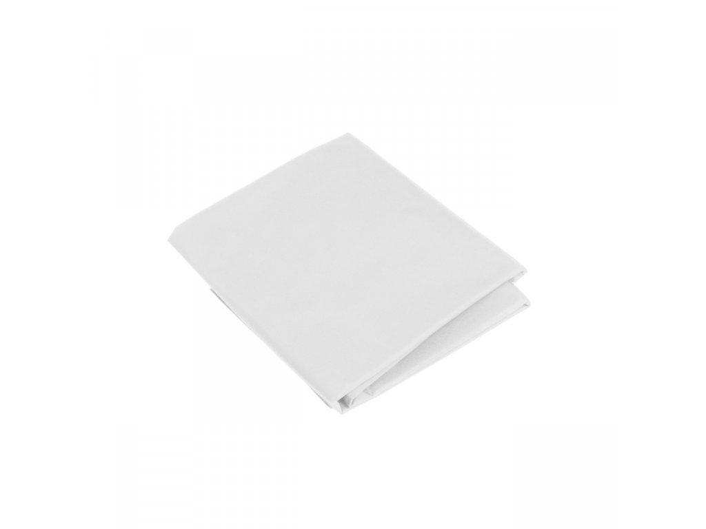 Látkové fotografické pozadie 3x6m - bavlnené, biele
