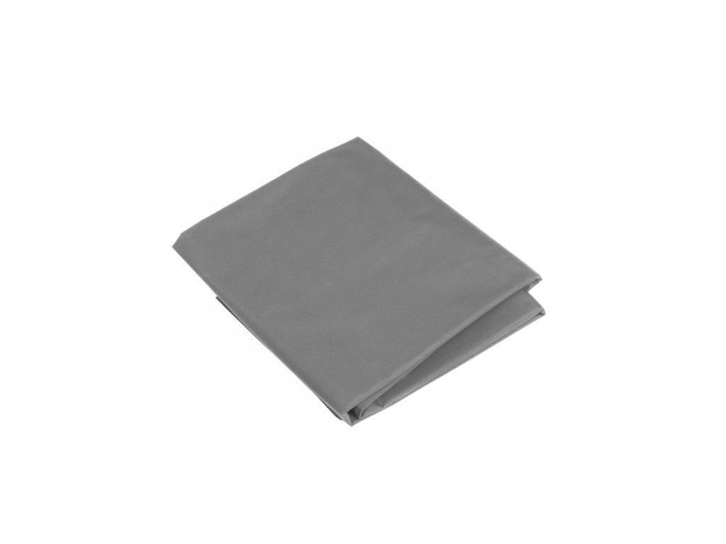 Látkové fotografické pozadie 3x6m - bavlnené, šedé