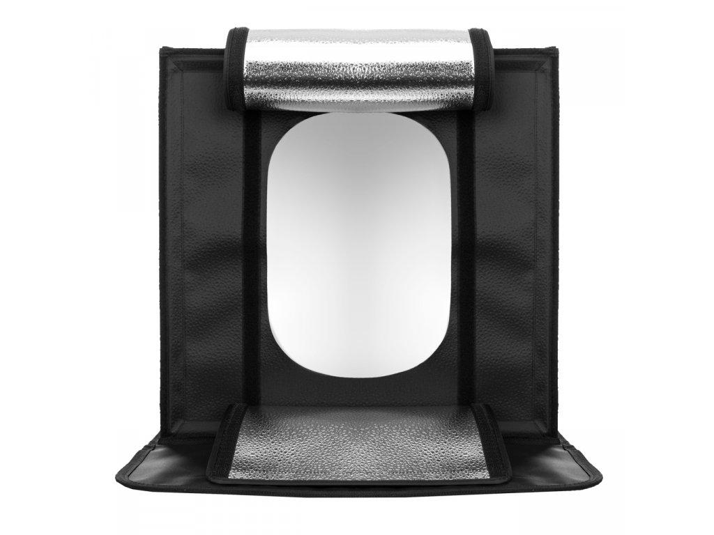 LED fotografický stan 70x70 cm