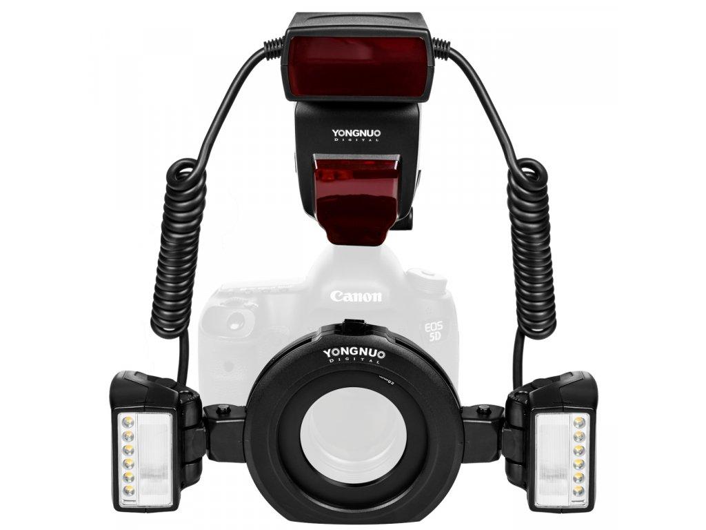 Macro blesk YONGNUO Ring flash YN-24EX GN24/79, TTL Canon