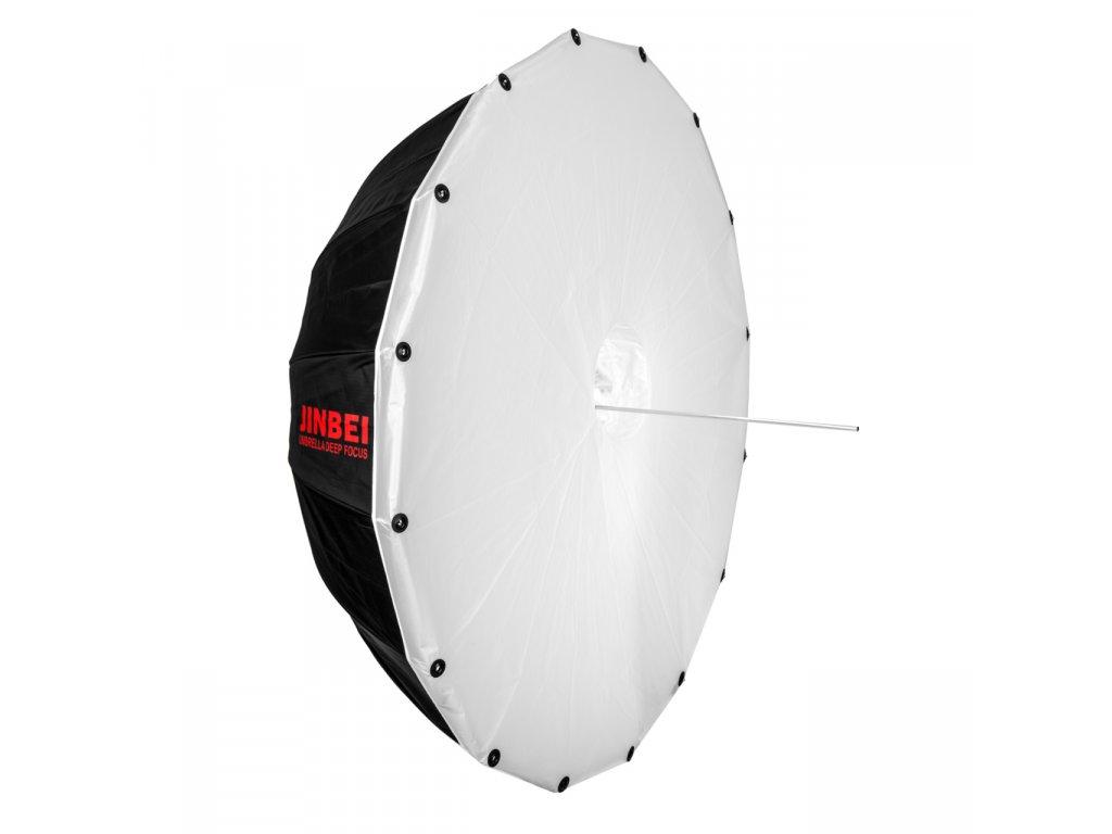 Ateliérový hlboký dáždnik - dáždnikový DEEP softbox 105 cm