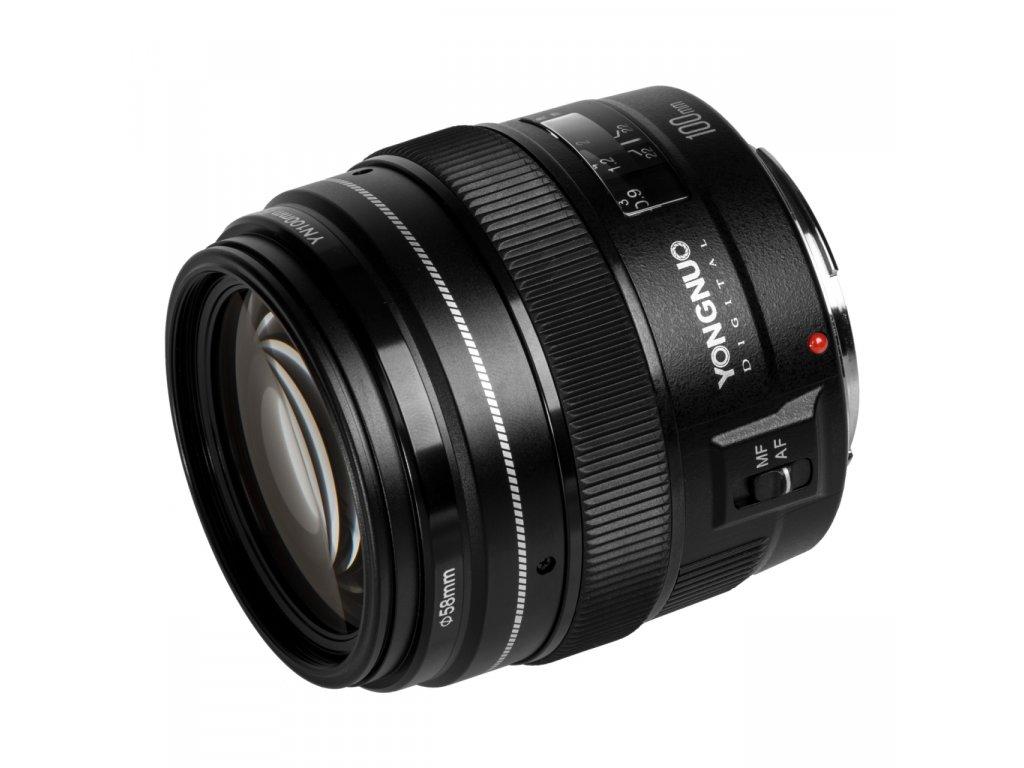 Objektív Yongnuo 100mm f/2 Canon EF
