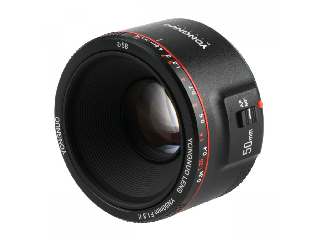 Objektív Yongnuo 50mm f/1.8 II Canon EF