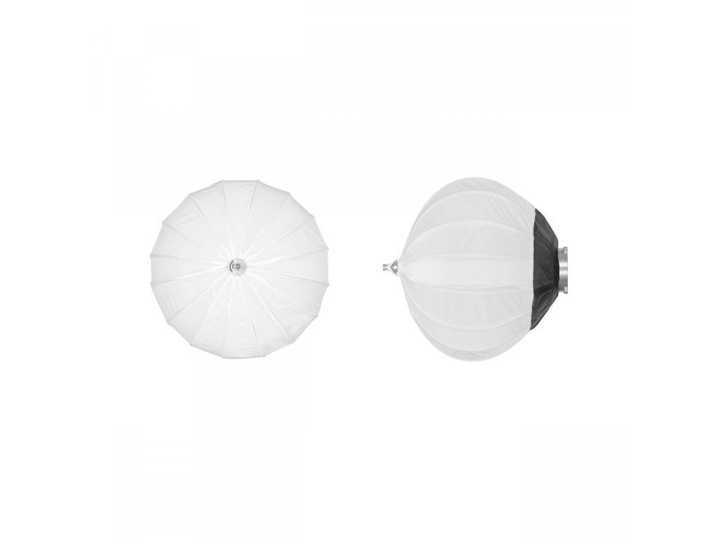 Balónový softbox DB 45 cm rýchlorozkladací, adaptér Bowens