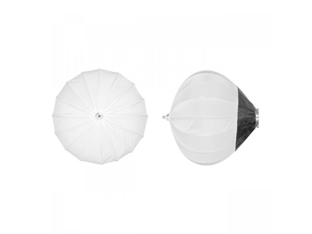 Balónový soft box DB 65 cm rýchlo rozkladací, adaptér Bowens