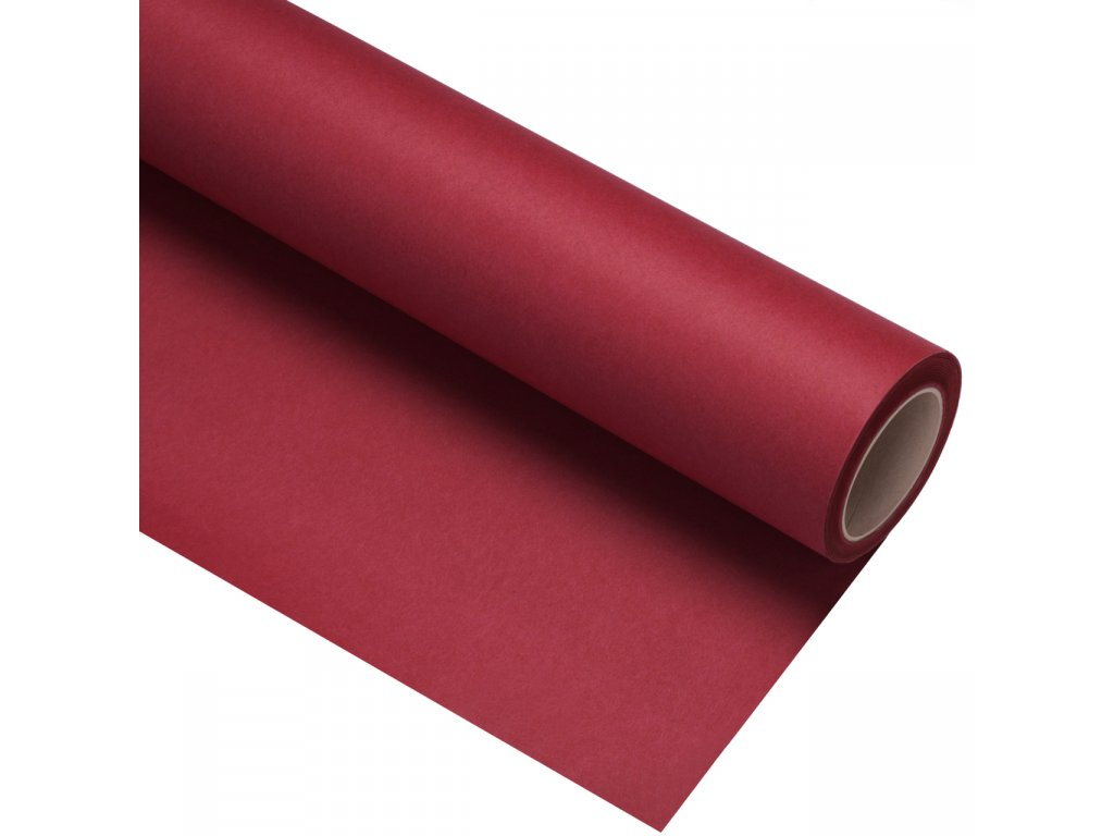 Papierové fotografické pozadie 1,35x11m - červené karmínové - crimson | flame
