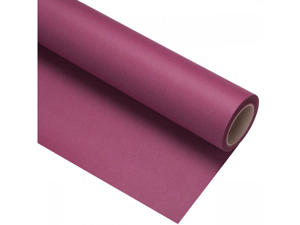 Papierové fotografické pozadie 1,35x11m - fialové - damson | plum