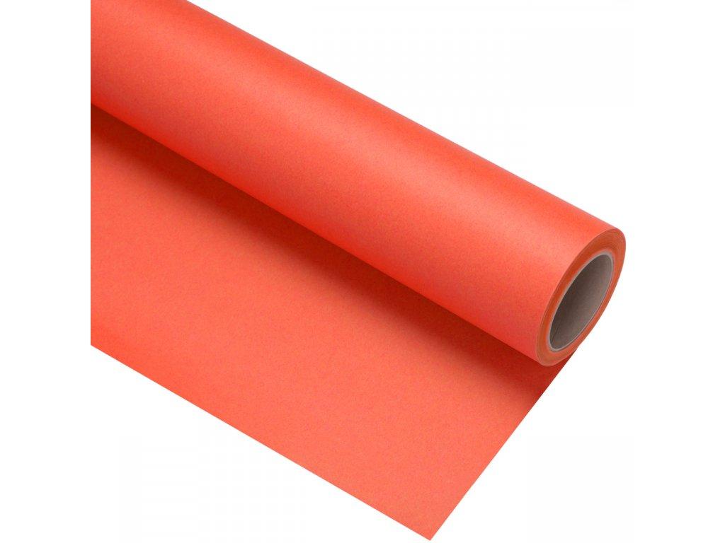 Papierové fotografické pozadie 1,35x11m - oranžové - mandarin | bright orange