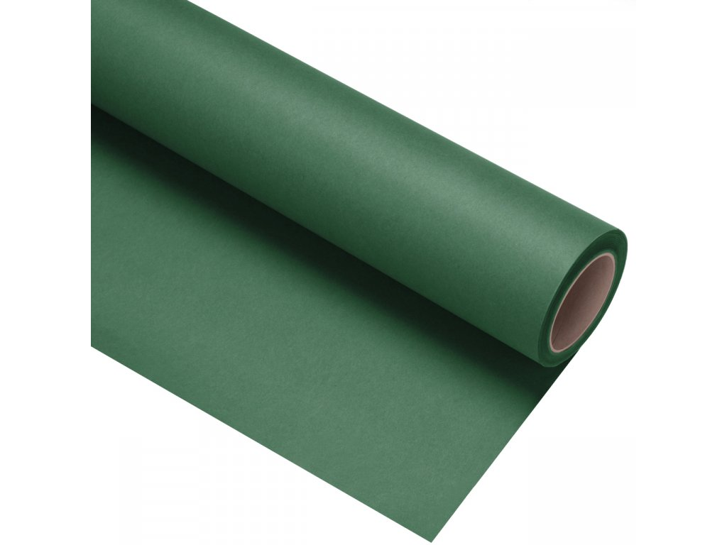 Papierové fotografické pozadie 1,35x11m - tmavo zelené - spruce | deep green