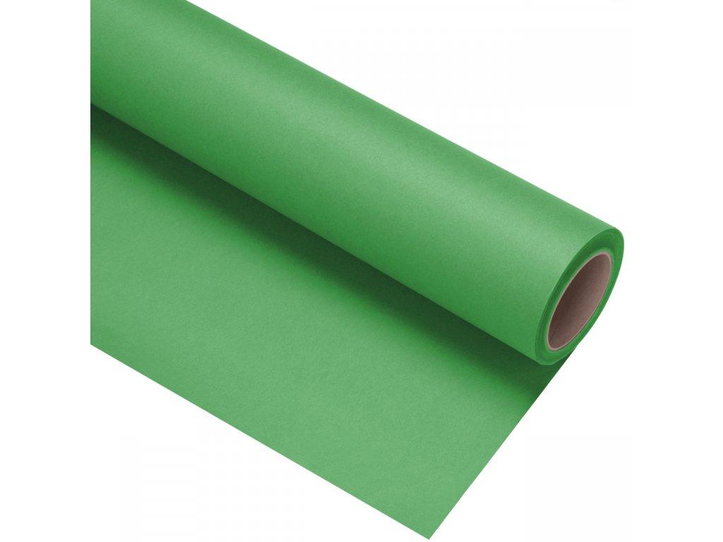 Papierové fotografické pozadie 1,35x11m - zelené - kľúčovacie