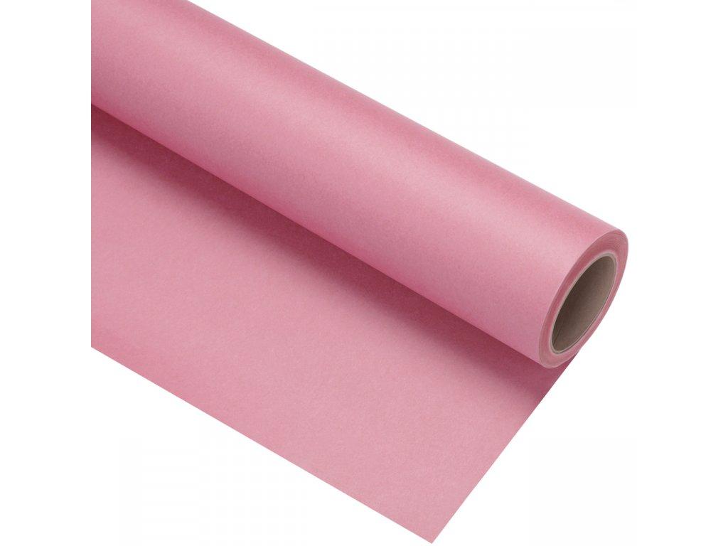 Papierové papírové pozadie 2,72x11m - ružové - carnation