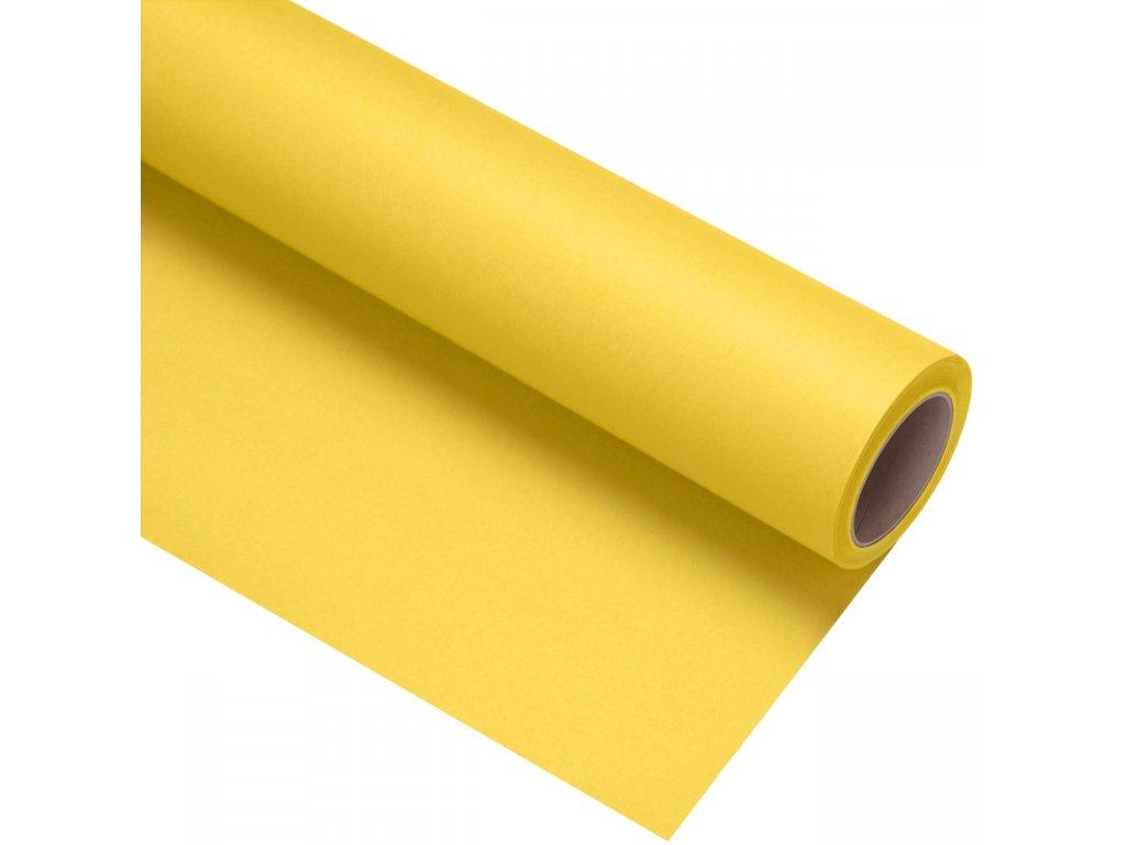 Papierové fotografické pozadie 2,72x11m - svetložlté - sulphur | aspen