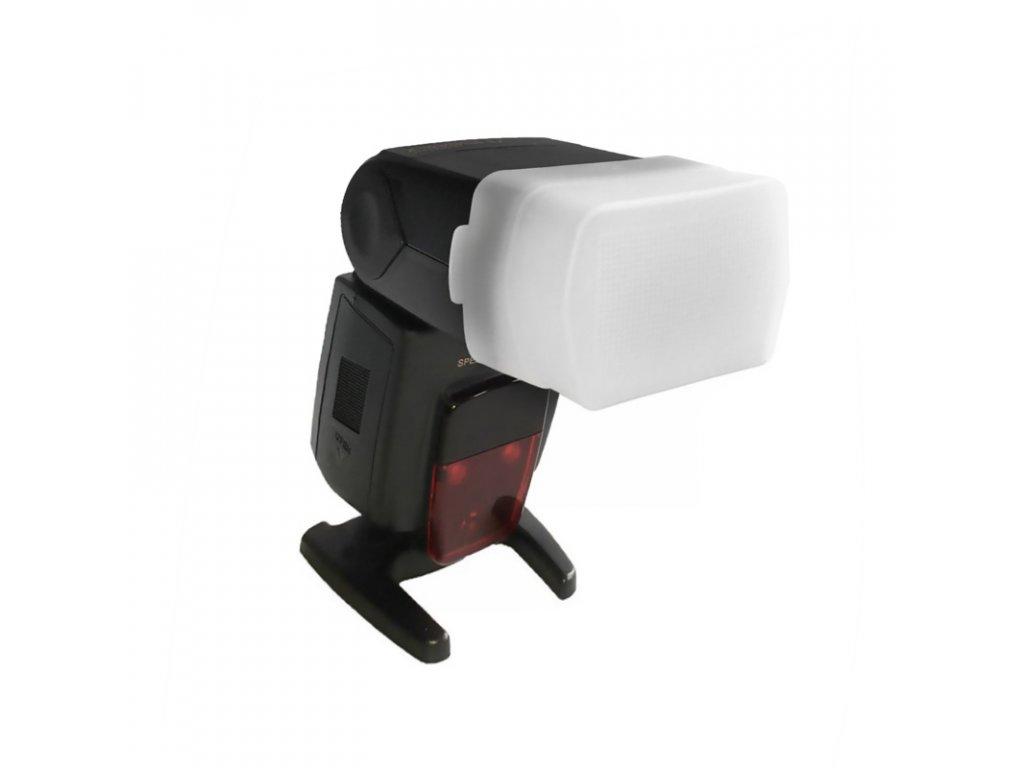 Plastový difúzer pre externý systémový blesk -univerzálny
