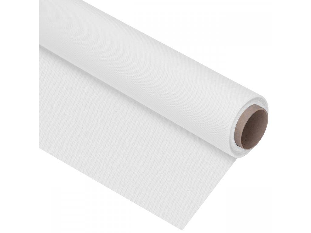Polypropylénové fotografické pozadie biele, 1,6 x 5m