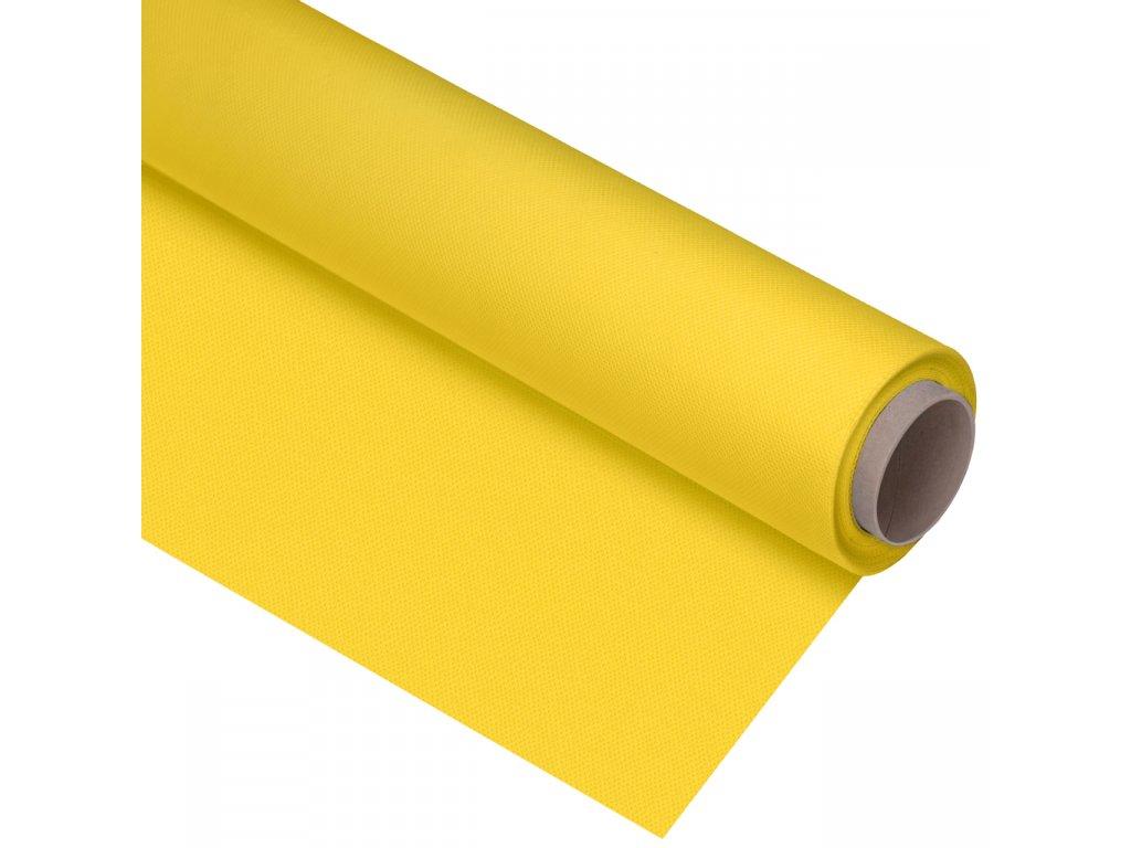Polypropylenové fotografické pozadie žlté , 1,6 x 5m
