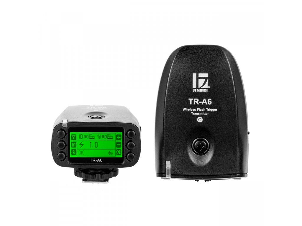 Rádiový odpalovač TR-A6 pre blesky HD-600 s podporou HSS Canon