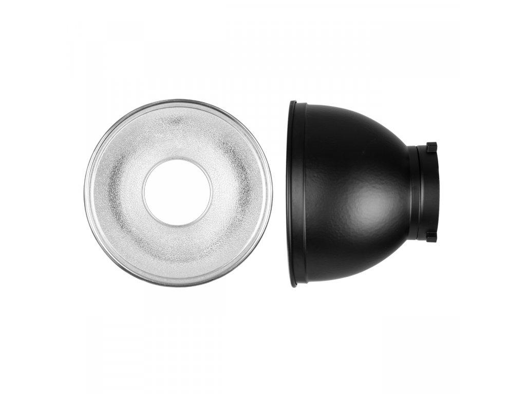 Reflektor - 18,5 cm, 55°, bajonet Bowens s voštinami S,M