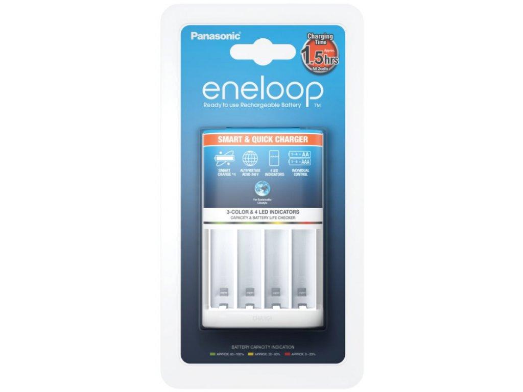 Rychlonabíjačka batérií AA, AAA Eneloop