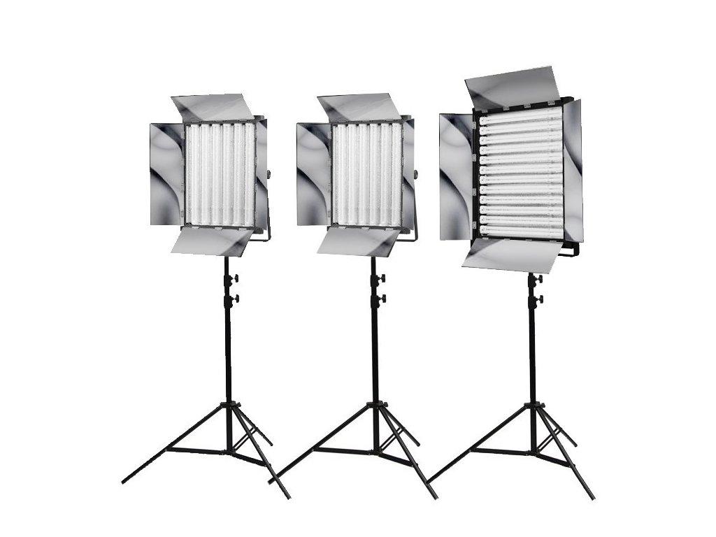 Sada troch trvalých svetiel 2x NG-330W a NG-660A, Phototools KIT19