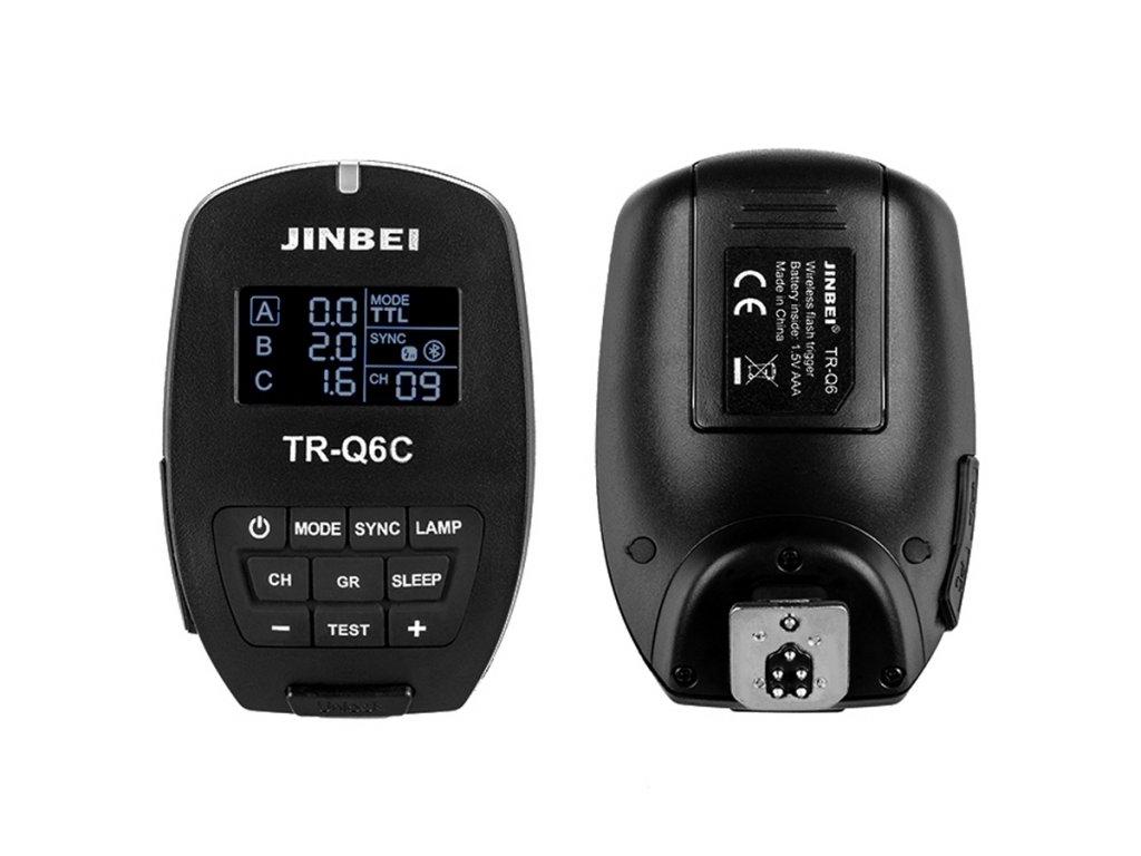 Smart odpalovač TR-Q6 Canon TTL, HSS pre blesky SPARK, DPX, MSN, HD