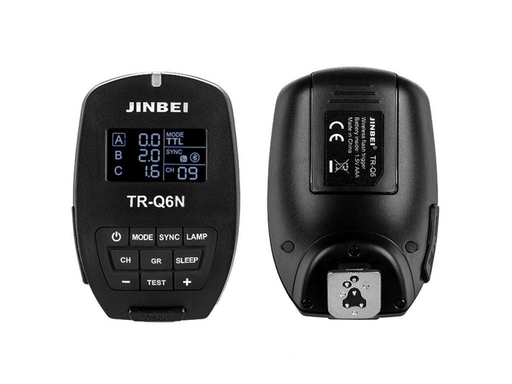 Smart odpalovač TR-Q6 Nikon TTL, HSS pre blesky SPARK, DPX, MSN, HD