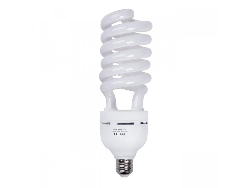 Špirálová žiarovka 135W pre trvalé světlo Daylight