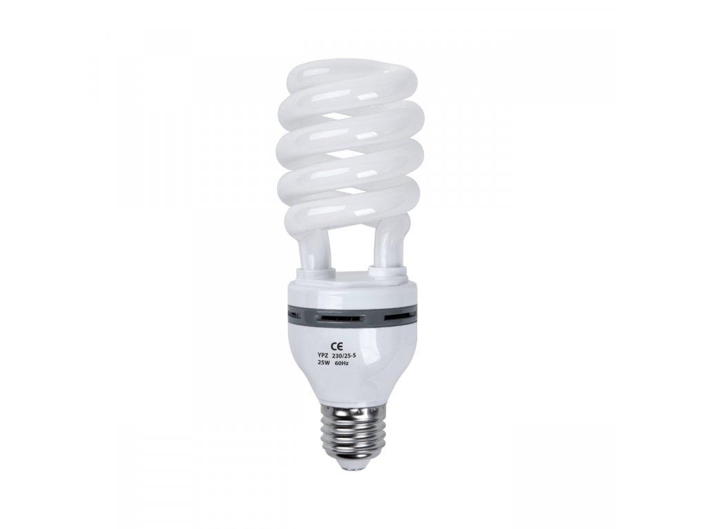 Špirálová žiarovka 26W pre trvalé světlo Daylight