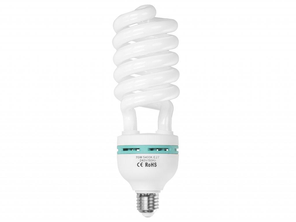 Špirálová žiarovka 70W pre trvalé svetlo Daylight