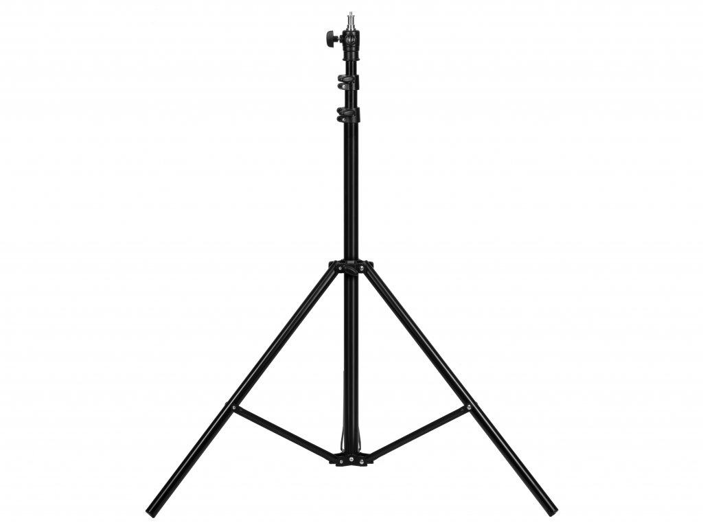 Stojan - statív 2,5m s krížovou hlavou a plynovou brzdou pre štúdiové svetlo, blesk