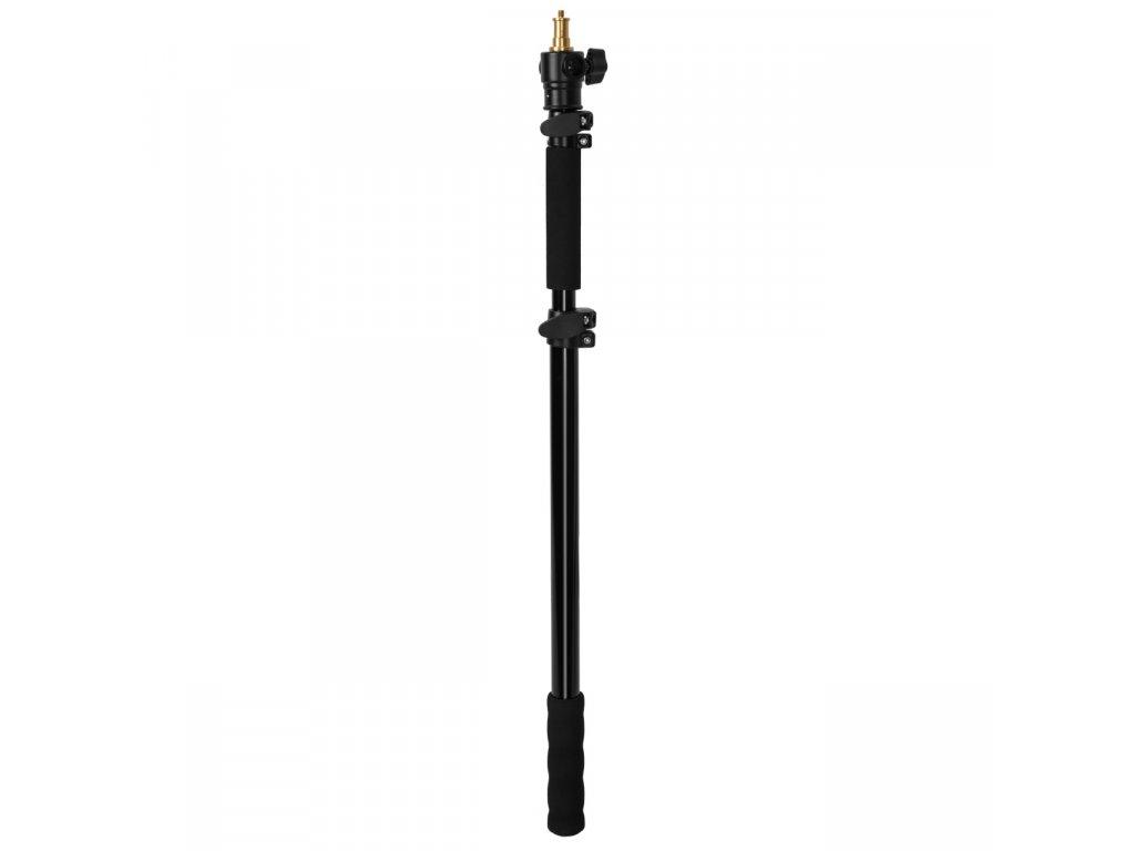 Teleskopický držiak, monopod - tyč pre blesky a svetlá 1,8 m