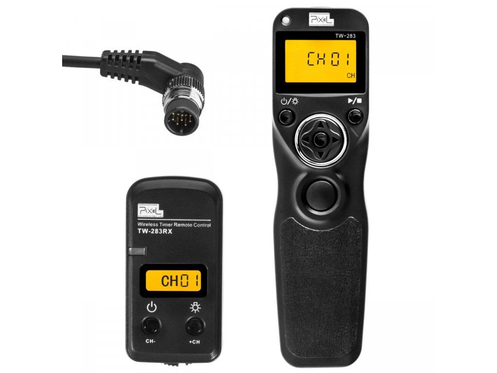 Bezdrátová časová spoušť Nikon, Pixel King, konektor DC0