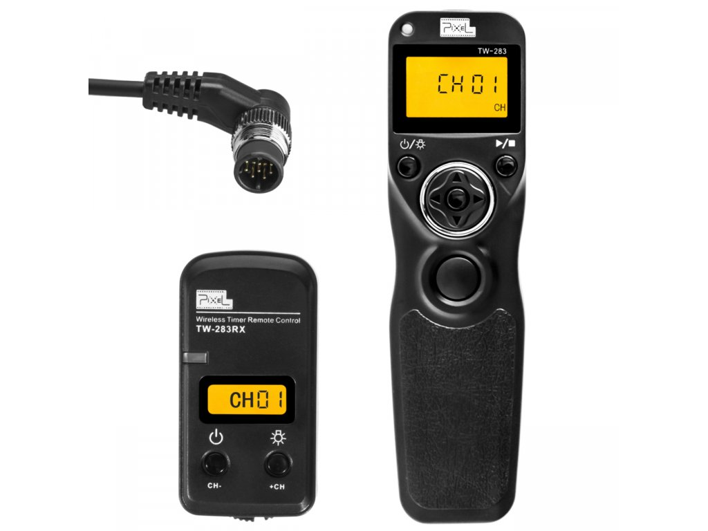 Bezdrôtová časová spúšť Pixel King TW-283, konektor DC0 (Nikon)