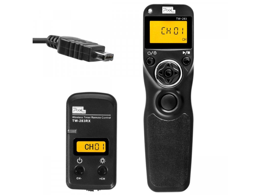 Bezdrátová časová spoušť Nikon, Pixel King, konektor DC2