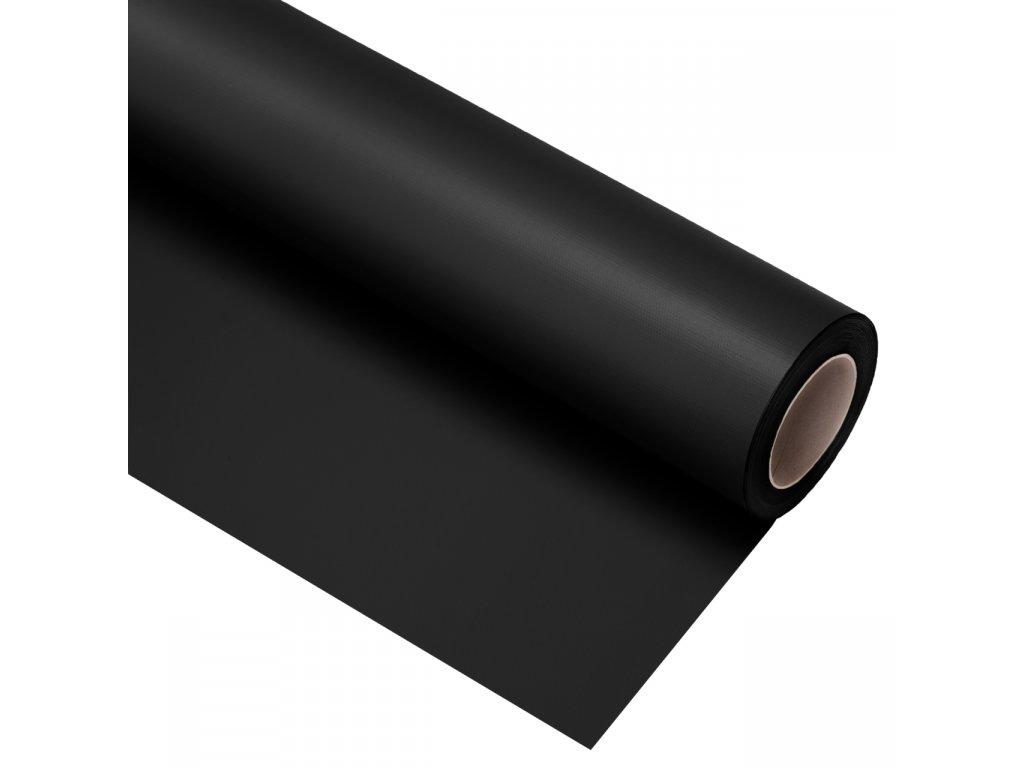 Vinylové fotografické  pozadie 2,72x6m - čierne